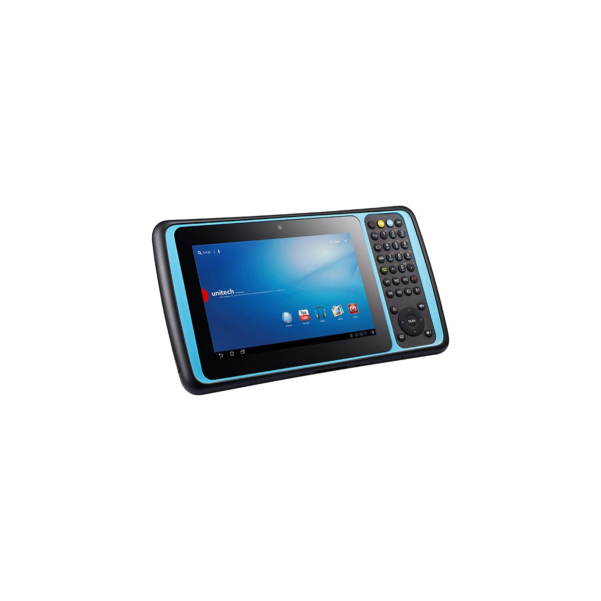 Tablet unitech TB120 HF/NFC, No Scan Engine, Android 4.3, Bluetooth, WiFi, 1D CCD, 2D Imager y 3.75G