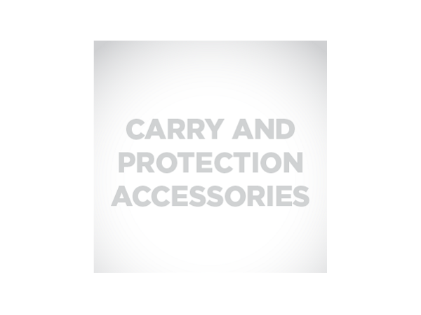 Belt holster stores Xenon 1902, 3820, 3820i, 4820, or 4820i cordless scanner and one spare lithium-ion battery