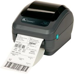 Impresora Zebra GK420D con Print Server y Dispensador