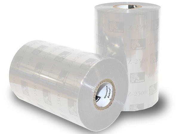Rollo de Ribbon Zebra 110mm Premium White Resina 450M para Impresoras Industriales