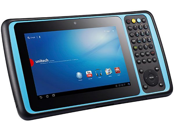 Tablet unitech TB120 HF/NFC, No Scan Engine, Android 4.3, Bluetooth, WiFi, 1D CCD y 2D Imager