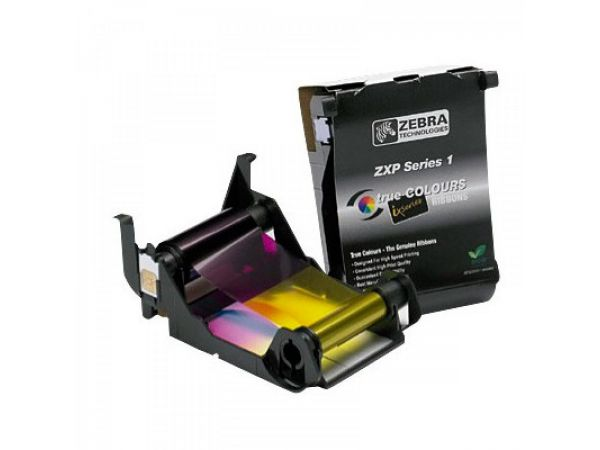 Zebra Load-N-Go™ Ribbon de color para ZXP Series 1 YMCKO