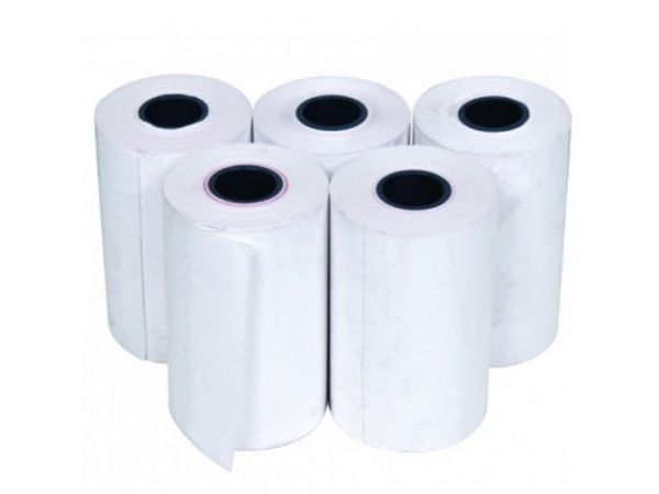 Thermal Paper roll, W:58mm, ID:25mm, OD:150mm, L:250m, 60micron (12 rolls/box)
