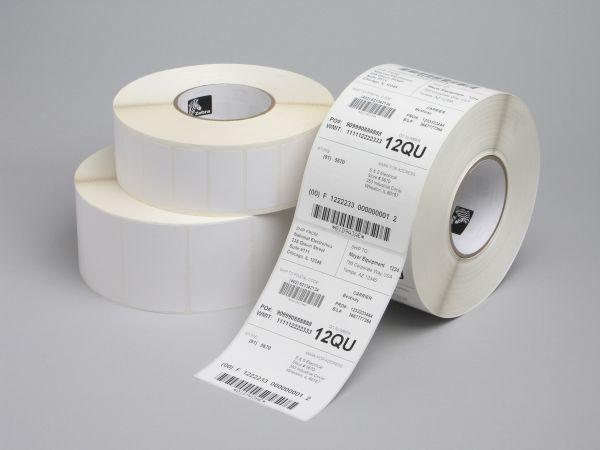 Rollo de etiquetas adhesivas Zebra 25mm x 76mm Z-Select 2000D