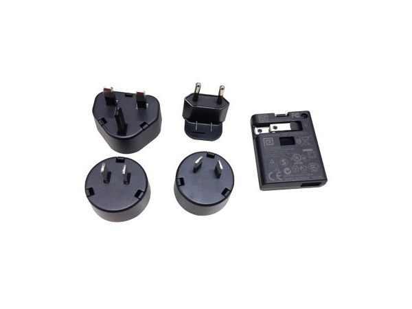 Universal (EU,US & UK) USB Power Adaptor 5V/2A