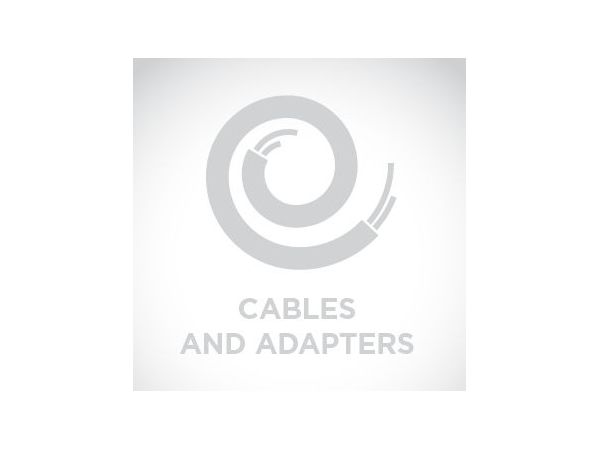 Cable: USB, black, secondary interface Length: 9.2 ft. (2.8m), coiled