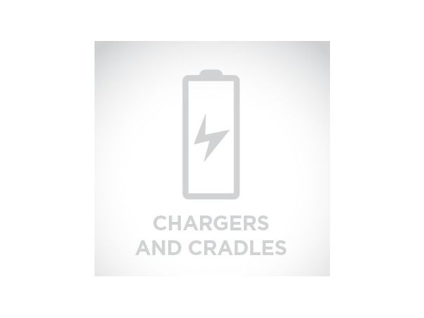 Compact cordless charge base charges Lithium-ion batteries