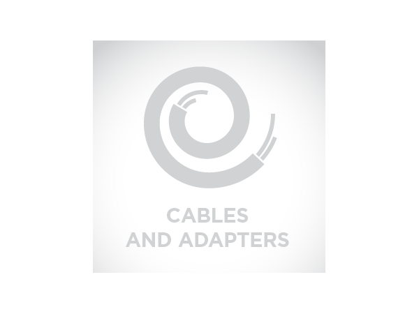 Cable: RS232, black, DB9 female, 2.9m (9.5´), coiled, 5V external power